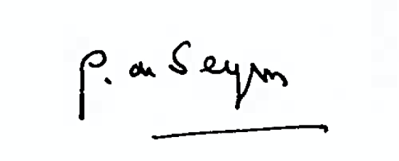 signature guillaume de seynes tribune